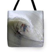 Surfing Bogue Banks 4 Tote Bag