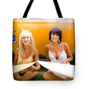 Surfing Holiday Tote Bag