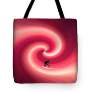 Surfing In The Sunset Two Tote Bag