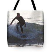 Surfing Narragansett Tote Bag