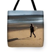 Surfing On Air  Tote Bag