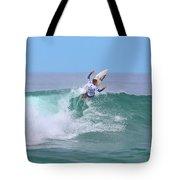 Surfing Panorama Tote Bag