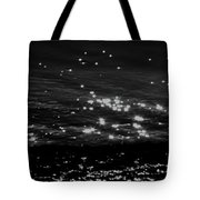Surfing The Cosmos Tote Bag