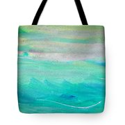 Surfing--waiting For The Perfect Wave Tote Bag