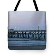 Surfside Beach Pier At Dawn Tote Bag