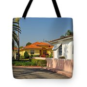 Surfside Neighborhood In Miami Beach Tote Bag
