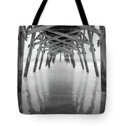 Surfside Pier Exposure Tote Bag