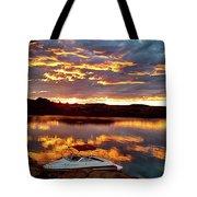 Surise On Lake Powell Tote Bag