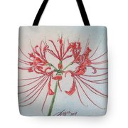 Surprise Lily Tote Bag