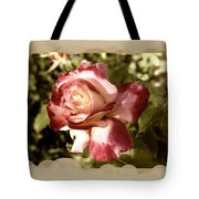 Surprise Rose Tote Bag