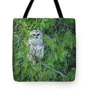 Surprise Visitor  Tote Bag