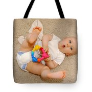 Surprised Baby Tote Bag