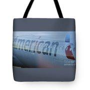 Surreal American Airlines Airbus Tote Bag