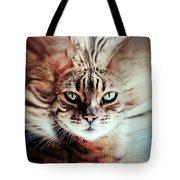 Surreal Cat Tote Bag