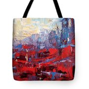 Surreal City Tote Bag