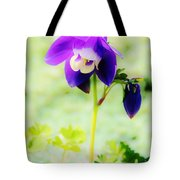 Surreal Columbine Tote Bag