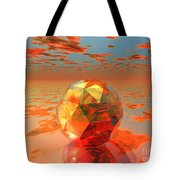 Surreal Dawn Tote Bag