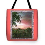 Surreal Desert Sunset Tote Bag