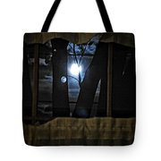 Surreal Double Moon Tote Bag