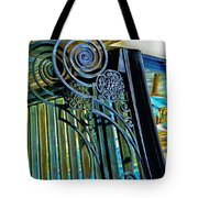 Surreal Reflection And Wrought Iron Tote Bag