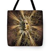 Surreal Sun Beam Tote Bag
