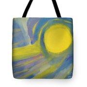 Surreal Sunset Tote Bag