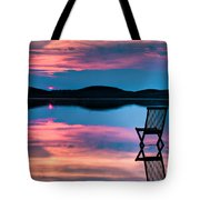 Surreal Sunset Tote Bag by Gert Lavsen