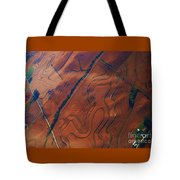 Surrealism Over The Plains Tote Bag