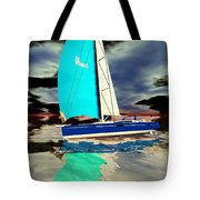 Surrealist Ocean Tote Bag
