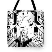 Surrealism Oil Pump Tote Bag