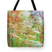 Lightness Of Surrender Tote Bag
