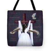 Surrender To Jesus Tote Bag