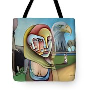 Surrender Your Search Tote Bag
