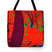 Surrounded 5 Tote Bag