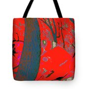 Surrounded 8 Tote Bag