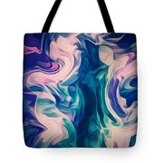 Surrounded By An Aura Of Love Tote Bag