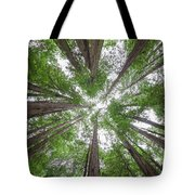 Surrounded By Giants Tote Bag