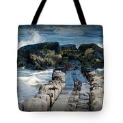 Surrounded By The Ocean - Jersey Shore Tote Bag