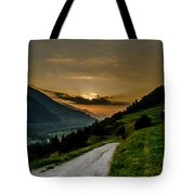 Surselva Valley Tote Bag