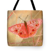Survival Butterfly Tote Bag