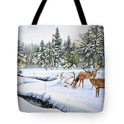 Surviving The Winters Tote Bag