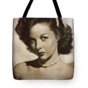 Susan Hayward By Mb Tote Bag