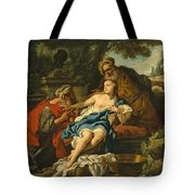 Susanna And The Elders Tote Bag
