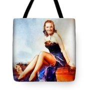 Susanna Foster, Vintage Hollywood Actress Tote Bag