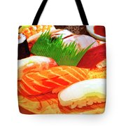 Sushi Plate 1 Tote Bag