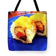 Sushi Plate 3 Tote Bag