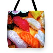 Sushi Plate 4 Tote Bag