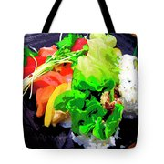 Sushi Plate 5 Tote Bag