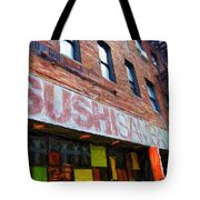 Sushi Samba Sketch Tote Bag