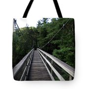 Suspension Bridge 3 Tote Bag